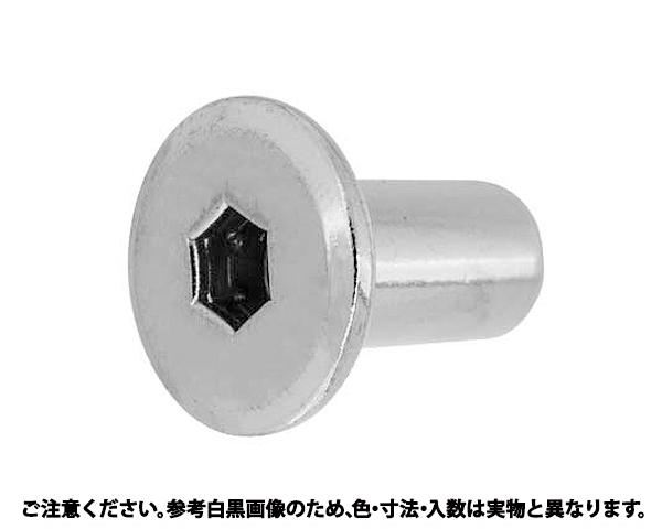 JCN6カクアナ5ヒラD17 A 表面処理(GB(茶ブロンズ)) 規格(6X17) 入数(300)