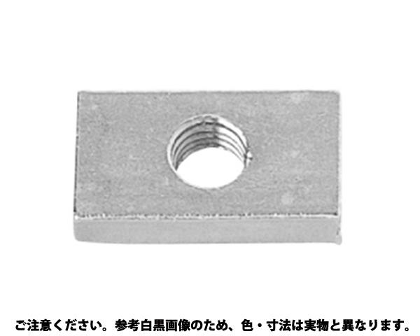 チョウホウケイナット 表面処理(クロメ-ト(六価-有色クロメート) ) 規格(M6X16X20) 入数(300)