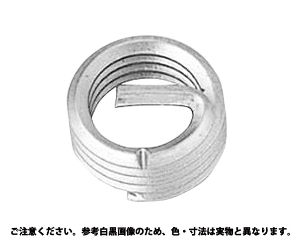 ステン Eサート P=1.0 材質(ステンレス) 規格(M6-3D) 入数(100)