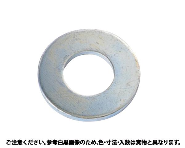 マルW(6.5+0.3) 表面処理(クロメ-ト(六価-有色クロメート) ) 規格(6X10X1.0) 入数(7000)