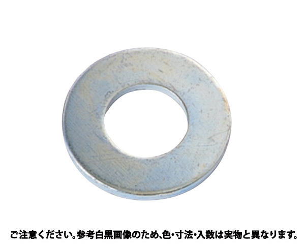 マルW(12.5+0.3) 表面処理(三価ホワイト(白)) 規格(12.5X20X05) 入数(1800)