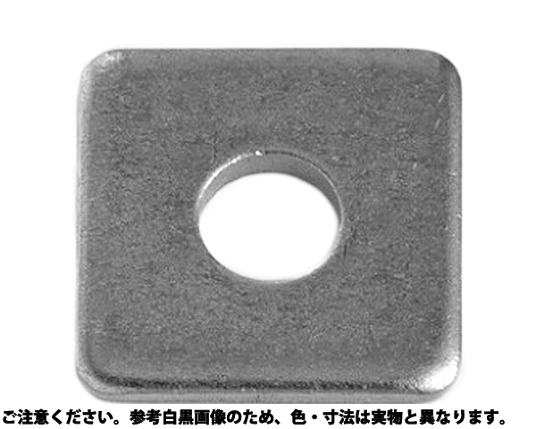 カクW(オオガタ  (1/4) 表面処理(三価ブラック(黒)) 規格(M6X20X2.3) 入数(400)