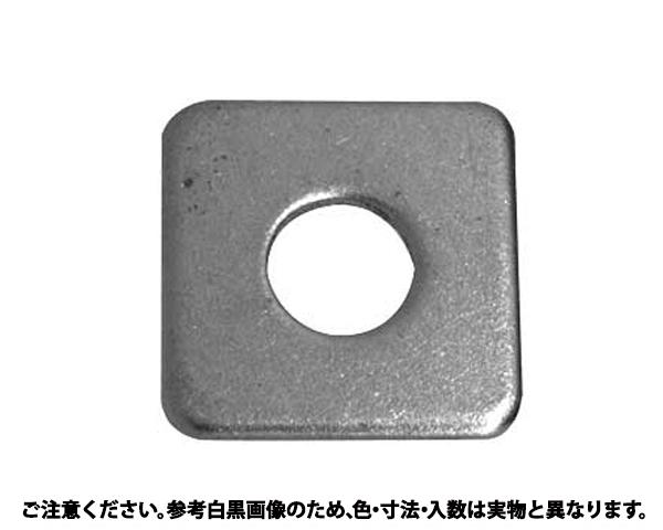 カクW(コガタ  (5/16) 表面処理(三価ブラック(黒)) 規格(M8X23X1.6) 入数(400)