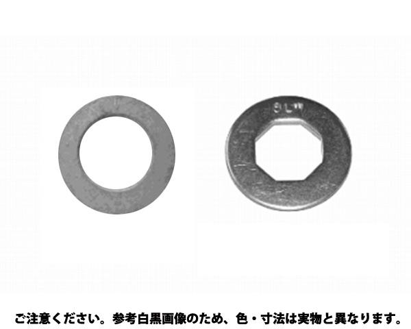 ステン8ロックW 表面処理(BK(SUS黒染、SSブラック)) 材質(ステンレス) 規格(10X21X2.0) 入数(500)