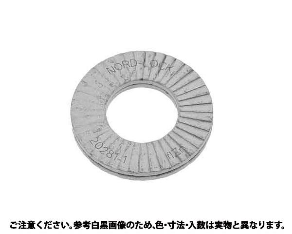 SUSノルトロックW ハバヒロ 材質(ステンレス) 規格(M4(NL4SPSS) 入数(200)