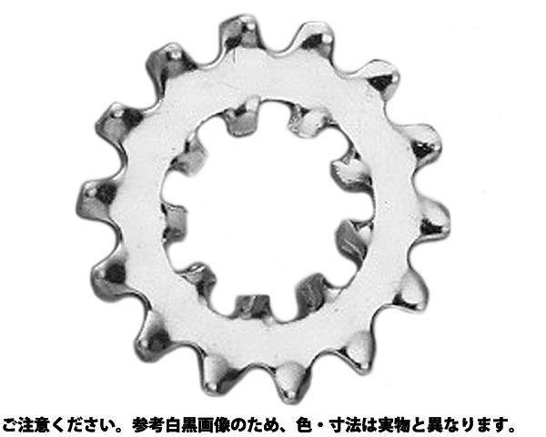 ハツキW(ウチソトハ 表面処理(クロメ-ト(六価-有色クロメート) ) 規格(M14) 入数(500)