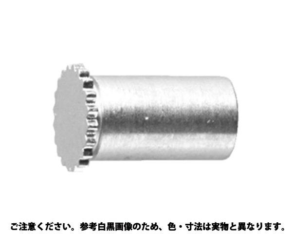 クリンチングスペーサTBDF 表面処理(三価ホワイト(白)) 規格(4.2M3-8) 入数(1000)