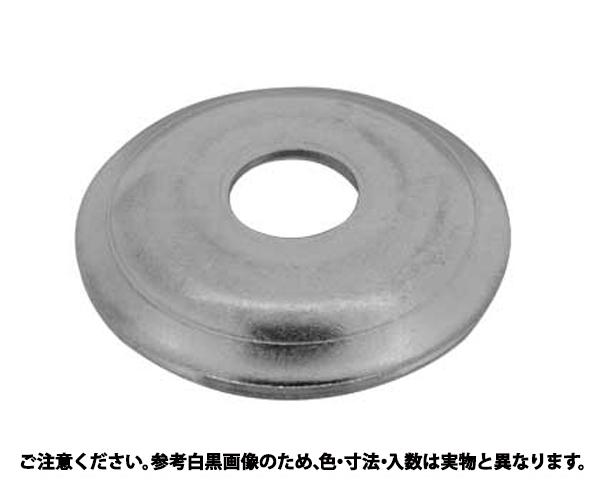シボリW(H4.8 表面処理(三価ホワイト(白)) 規格(8X30X1.6) 入数(300)