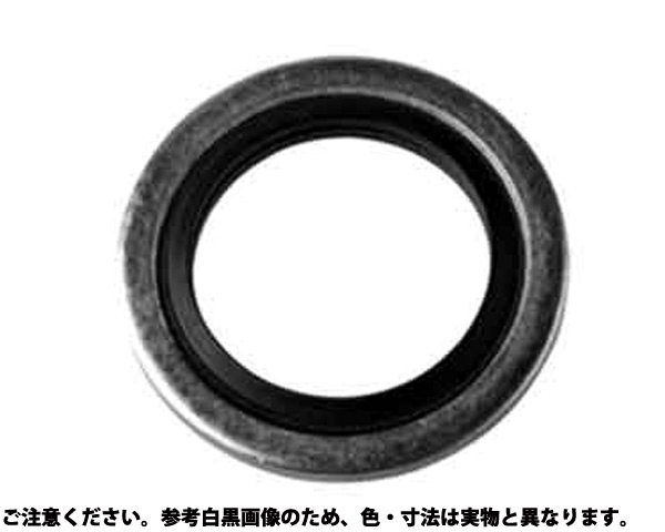 SUS ムサシ シールW 材質(ステンレス) 規格(SWS6X11-N) 入数(500)