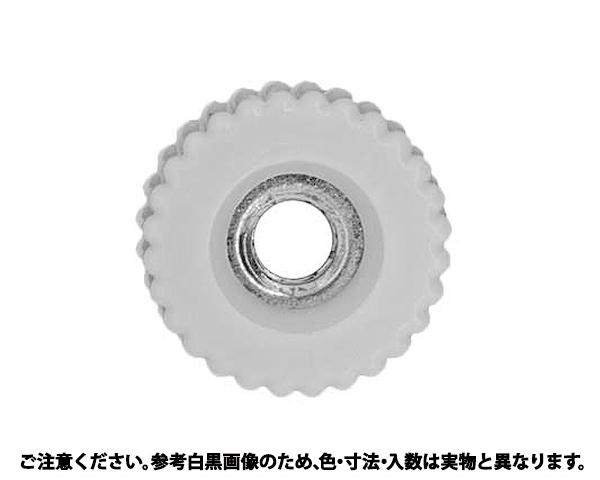 ケショウナット(カンツウ(シロ 表面処理(三価ホワイト(白)) 規格(M3(K-1) 入数(500)