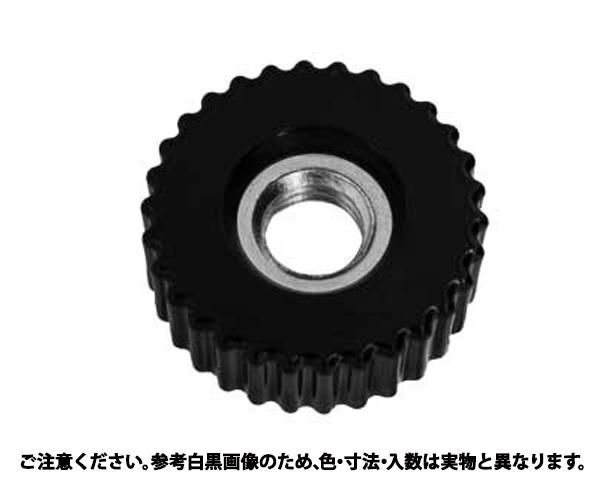 ケショウナット(カンツウ(クロ 表面処理(三価ホワイト(白)) 規格(M4(K-3) 入数(500)