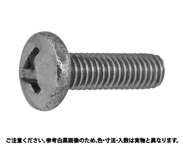 SUSトライウィング・ナベコ 表面処理(BK(SUS黒染、SSブラック)) 材質(ステンレス) 規格(3X8) 入数(100)
