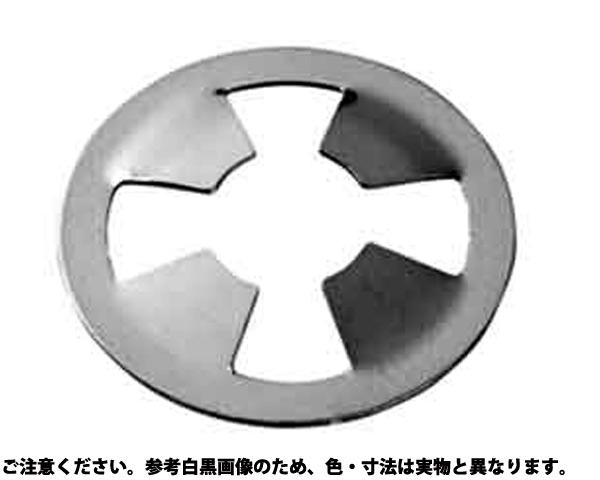 SUSヌケドメW(ネジヨウ 材質(ステンレス) 規格(M8X16X0.2) 入数(1000)