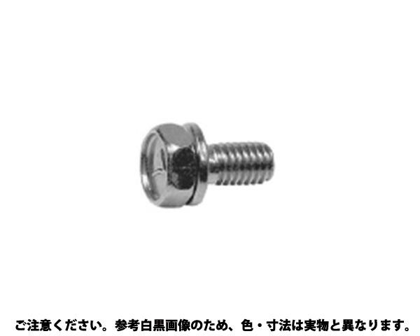 7-コガタUP P=2(ナミメ 表面処理(三価ホワイト(白)) 規格(10X40-P1.5) 入数(100)