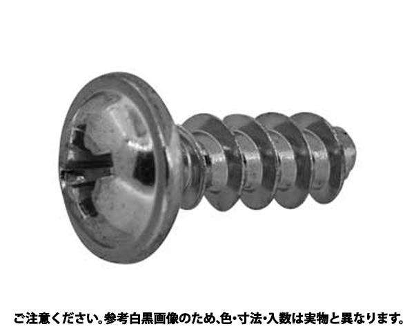 PTスクリュー(1411-H2 表面処理(三価ブラック(黒)) 規格(4X20) 入数(1000)