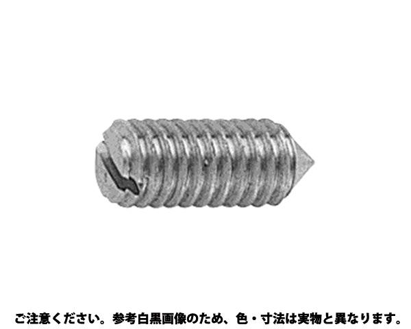 (-)トメネジ(トガリサキ) 表面処理(BK(SUS黒染、SSブラック)) 材質(ステンレス) 規格(4X12) 入数(1000)