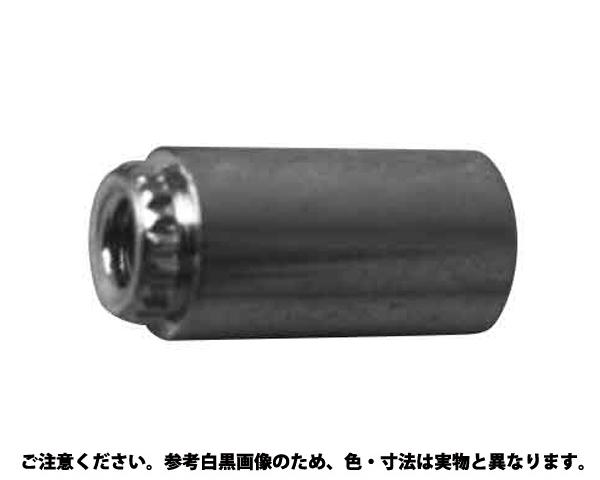 ブローチングスペーサー 表面処理(三価ホワイト(白)) 規格(TKFE-M4-10) 入数(1000)