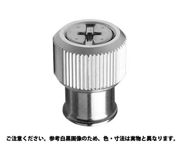 PEMパネルファスナーPF11 表面処理(ユニクロ(六価-光沢クロメート) ) 規格(-M4-0BL) 入数(100)