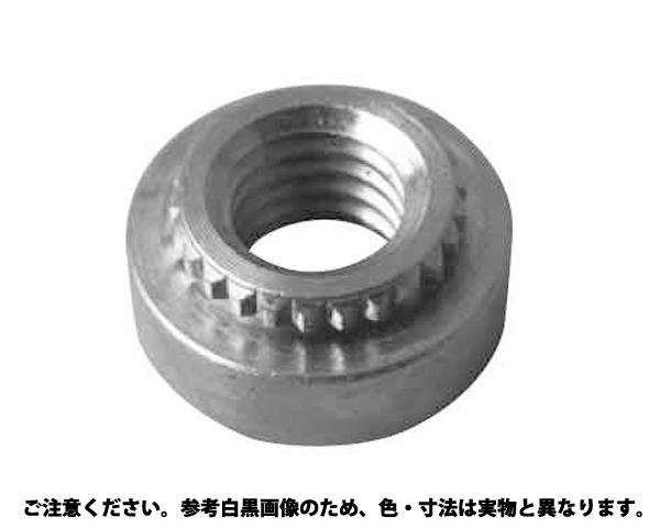 SUS ブローチングナット 材質(ステンレス) 規格(TKFS-M2.5) 入数(1000)