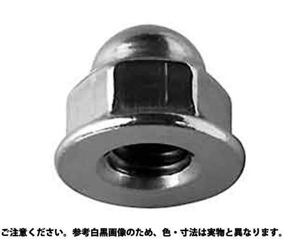 SUSフランジフクロN(Sナシ 表面処理(BK(SUS黒染、SSブラック)) 材質(ステンレス) 規格(M8(12X17) 入数(500)