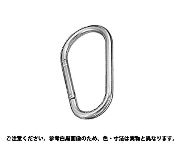 カラビナジャンボ(カンナシ 材質(ステンレス) 規格(XJB-12A) 入数(5)
