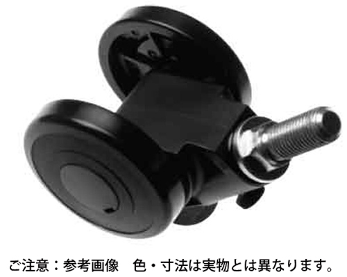 キャスパッド(ボルト(クロ 規格(CABF50B) 入数(1)