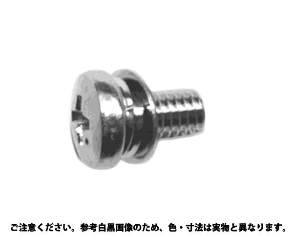 BS(+)バインドP=4 表面処理(ニッケル鍍金(装飾) ) 材質(黄銅) 規格(4X10) 入数(1000)