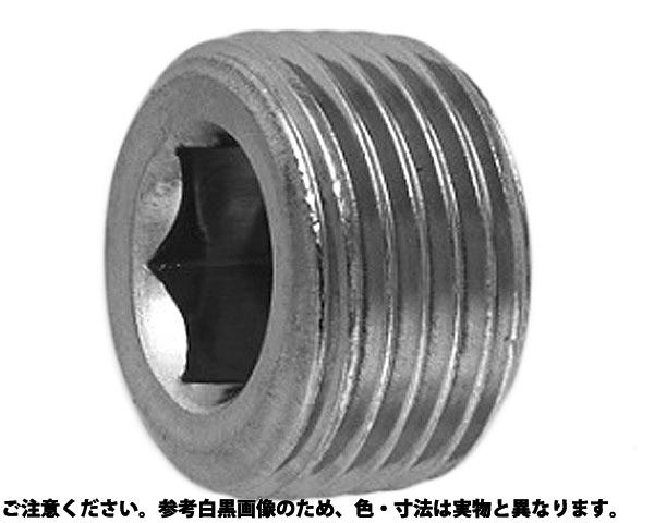 プラグ(シズミ(TKS 表面処理(三価ホワイト(白)) 規格(PT1/8) 入数(1500)