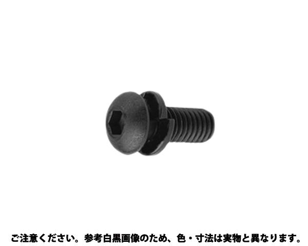 WAボタン-Sタイプ 表面処理(三価ブラック(黒)) 規格(8X20) 入数(200)