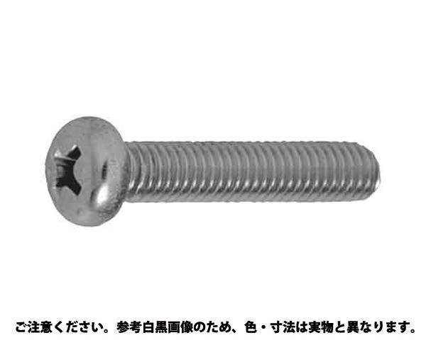 ステン(+)ナベコ(ヒダリ) 表面処理(BK(SUS黒染、SSブラック)) 材質(ステンレス) 規格(4X20) 入数(500)