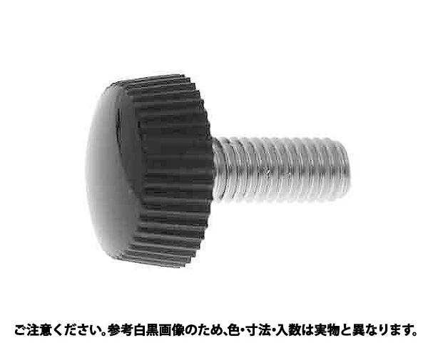 ナイロンケショウネジNO2クロ 表面処理(生地) 材質(ステンレス) 規格(4X10) 入数(500)