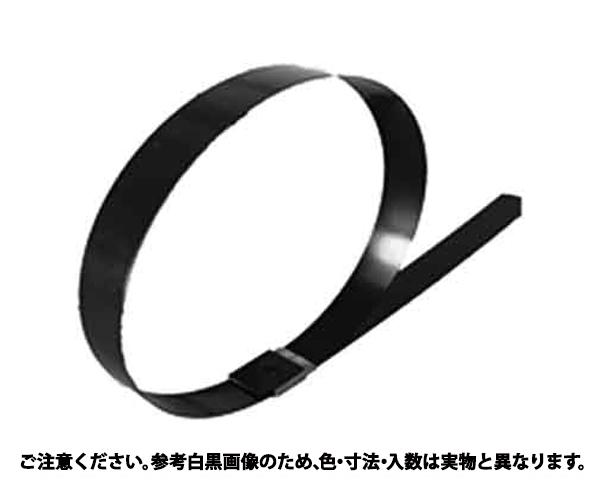 ステンバンド(316CB 表面処理(樹脂着色黒色(ブラック)) 規格(DKST-12746) 入数(100)