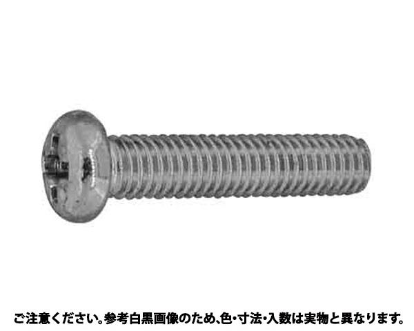 ステン(+)ナベコ 表面処理(BK(SUS黒染、SSブラック)) 材質(ステンレス) 規格(2X22) 入数(2000)