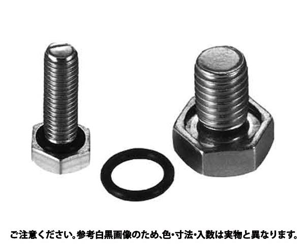 SUSシールボルト(ゼン 材質(ステンレス) 規格(10X30) 入数(100)