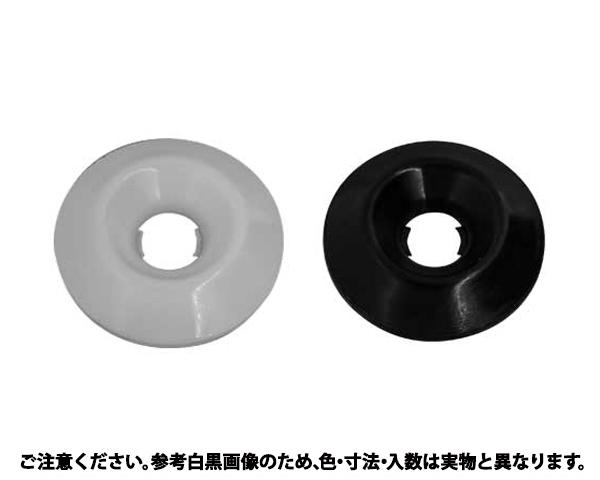 カザリワッシャー(007-3 表面処理(樹脂着色黒色(ブラック)) 規格(M6(サラヨウ) 入数(500)