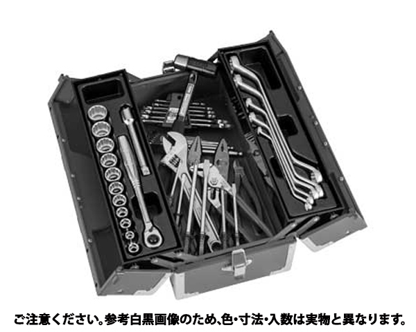 ツールセット 表面処理(塗装シルバー(銀色)) 規格(TSS460SV) 入数(1)