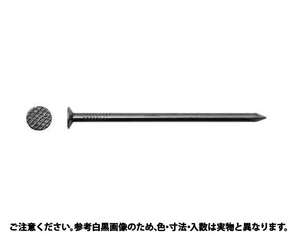 マルクギ(Nクギ(25KG 表面処理(ユニクロ(六価-光沢クロメート) ) 規格(#7X125) 入数(1)