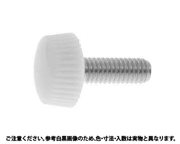ナイロンケショウネジNO1シロ 表面処理(三価ホワイト(白)) 規格(4X10) 入数(1000)