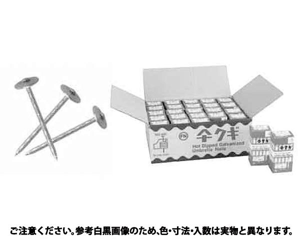 カサクギ(スクリュー(バラ 表面処理(ドブ(溶融亜鉛鍍金)(高耐食) ) 規格(#11X75) 入数(1)