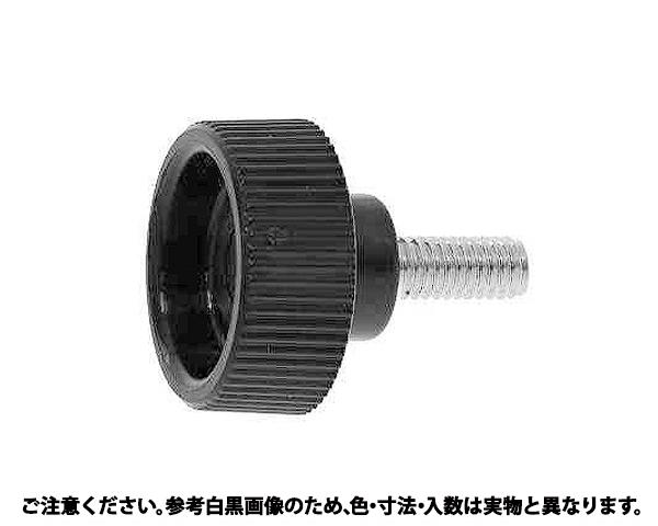 クランプノブBT(D24 表面処理(三価ホワイト(白)) 規格(6X10) 入数(100)