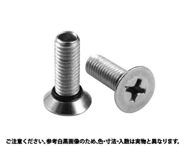 SUSシールビス(サラ 材質(ステンレス) 規格(6X12) 入数(500)
