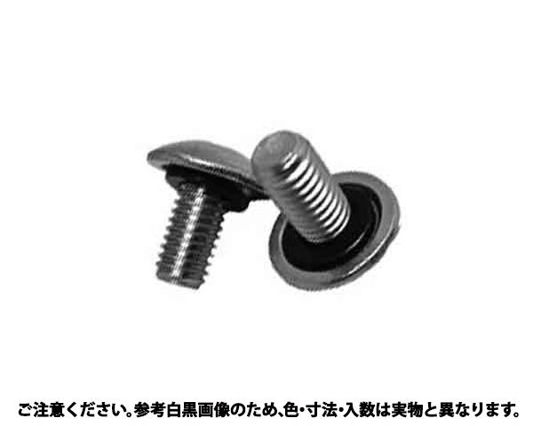 SUSシールアップ(トラスコ 材質(ステンレス) 規格(6X20フッソゴム) 入数(100)