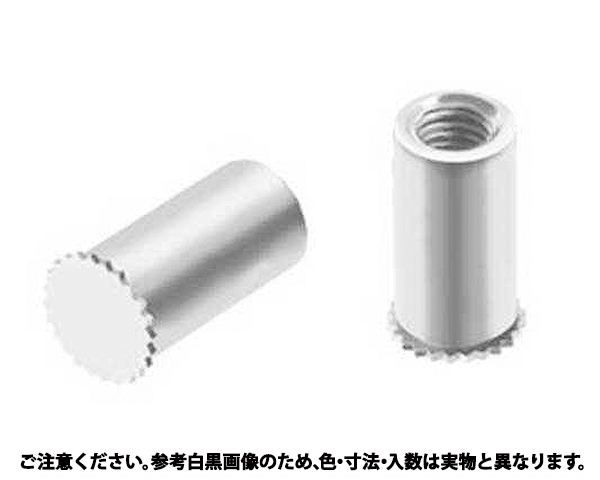 セルスペーサー(ホソケイ 表面処理(三価ホワイト(白)) 規格(DFB-M4-16C) 入数(500)