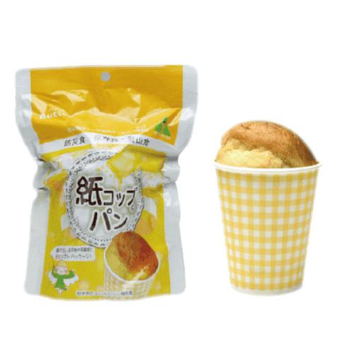 【防災用品の事なら当店にお任せください。お買物合計11,000円以上で送料無料】 東京ファインフーズ 紙コップパン バター  30個