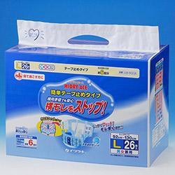紙おむつ(完全立体パンツタイプ) L26枚 ×2入