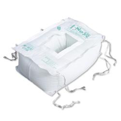 【水害対策】土No袋-新箱型(土のう袋:50枚入)