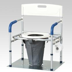 災害用マンホールトイレ洋式タイプ(VE100M)
