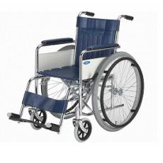 スチール製標準車いす ND-1【送料無料】【敬老の日】【日進医療器】【車いす】【自走式】