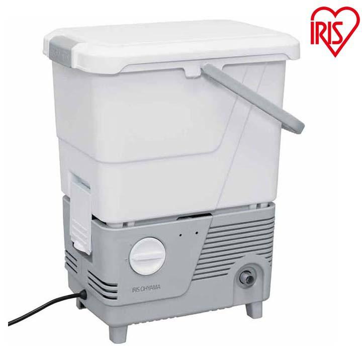 送料無料 タンク式高圧洗浄機 ホワイト SBT-412N アイリスオーヤマ