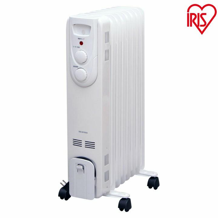 送料無料 オイルヒーター ストレートフィン IOH-1208KS-W 超美品再入荷品質至上 ホワイト アイリスオーヤマ セール 登場から人気沸騰